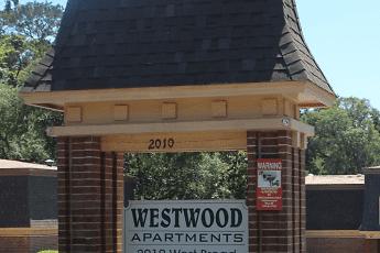 Community Signage, Westwood Apartments, 0