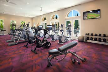 Fitness Weight Room, Cypress Village, 2