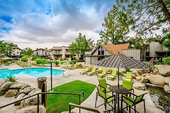 Pool, Boulder Creek Apartments, 0
