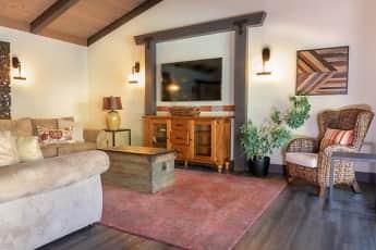 Living Room, El Portal Apartments, 2