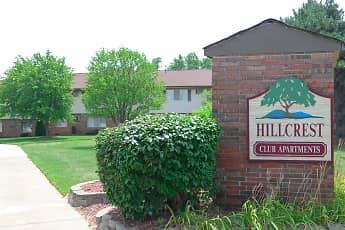 Community Signage, Hillcrest Club Apartments, 0