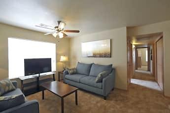 Living Room, Coles Crossing Apartments, 1