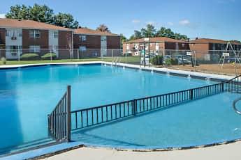 Pool, Stevens Manor Apartments, 1