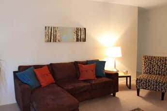 Living Room, Eastlawn Arms Apartments, 0