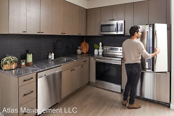Kitchen, M63 Apartments, 0