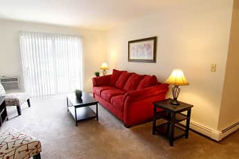 Living Room, Mission Hills Apartments, 1