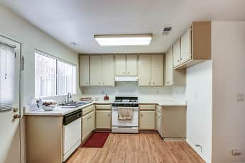 Kitchen, Park Place Townhomes, 1