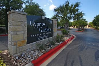 Community Signage, Cypress Gardens Apartments, 2
