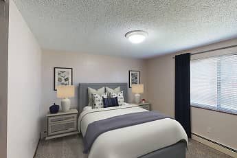 Bedroom, Mountain View Apartments, 0
