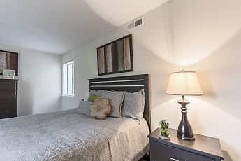Bedroom, University Park Apartments, 1