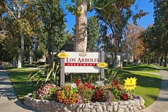 Community Signage, Los Arboles, 2