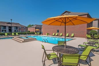 Pool, Greenleaf Apartments, 0
