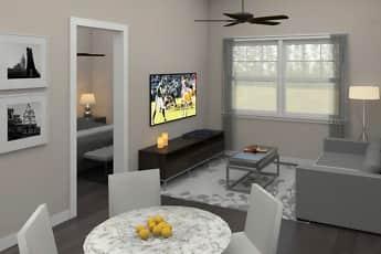 Living Room, 6300 City Avenue, 0