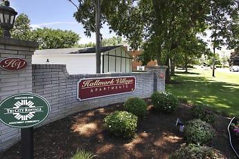 Community Signage, Hallmark Village Apartments, 2