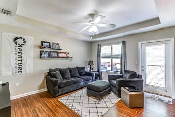 Living Room, Timberwood Townhomes, 1