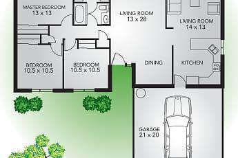 Community Signage, Summerfield Rental Homes, 2