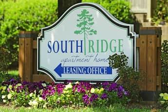 Community Signage, South Ridge Apartments, 2
