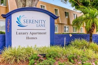 Community Signage, Serenity Lane, 2