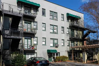 Building, Buckhead Town Homes and Gardens, 1