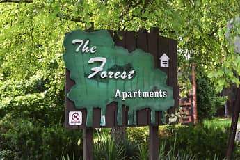 Community Signage, The Forest Apartments, 2