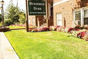 Community Signage, New Brunswick Arms Apartments, 0