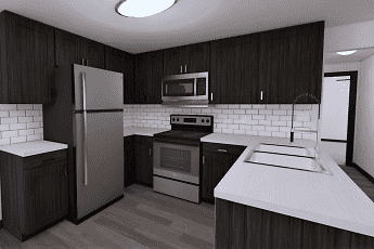 Kitchen, The Palmiere Apartments, 0