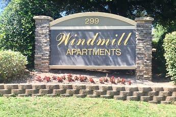 Community Signage, Windmill, 0