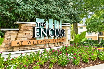 Community Signage, The Encore at Wheaton Station, 2