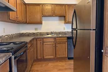 Kitchen, Heather Downs Apartments, 0