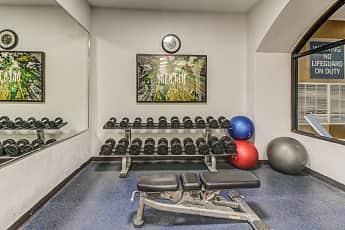 Fitness Weight Room, Flex Stay @ Westshore, 2