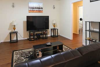Living Room, Camellia Apartments, 1