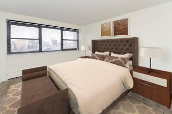 Bedroom, Riverside Towers Apartment Homes, 1