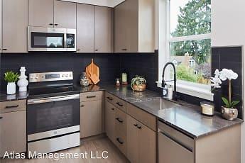 Kitchen, M63 Apartments, 0