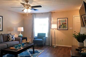 Living Room, Pointe South Townhomes, 1