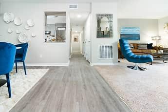 Living Room, Woods of Fairfax Apartments of Lorton, 0