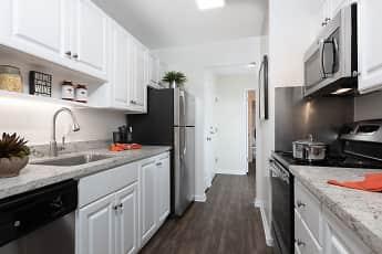 Kitchen, Oak Creek Apartments, 1