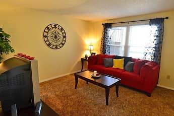 Living Room, Evergreen Terrace Apartments (ETSU/JCMC), 0