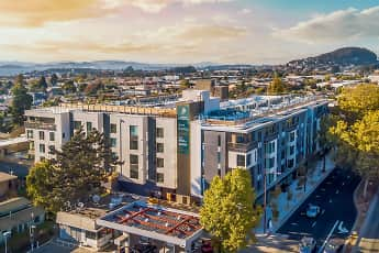 Community Signage, Jones Berkeley Apartments, 1