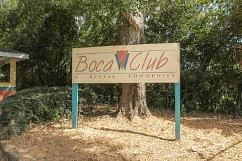 Community Signage, Boca Club Apartments, 2