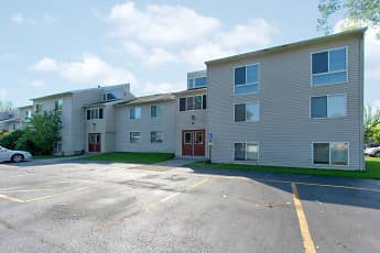 Building, Minoa Estates Apartments, 1