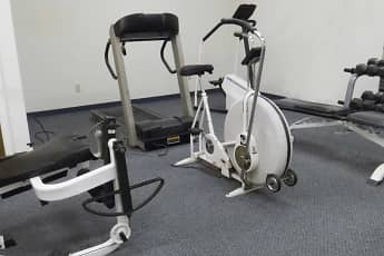 Fitness Weight Room, Brittany Apartments, 2