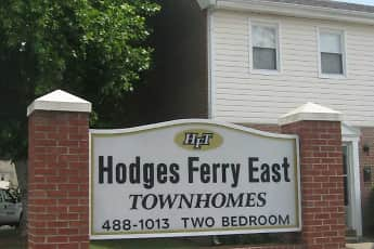 Community Signage, Hodges Ferry East Townhomes, 2