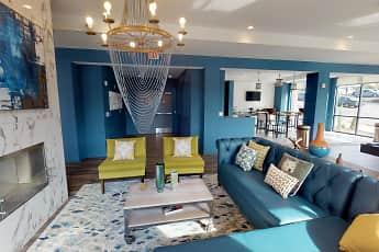 Living Room, 303 Flats Student Living - PER BED LEASE, 0