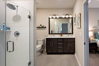 Bathroom, Lofts at Monroe Parke, 0