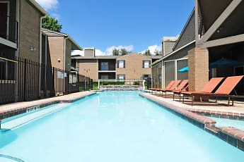 Pool, Deerwood Apartments, 0