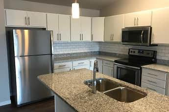 Kitchen, Mezzo Apartments, 0