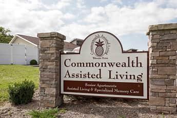 Community Signage, Commonwealth Living at Radford, 2