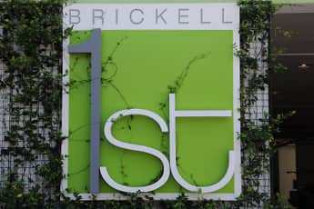 Community Signage, Brickell 1st Apartments, 0