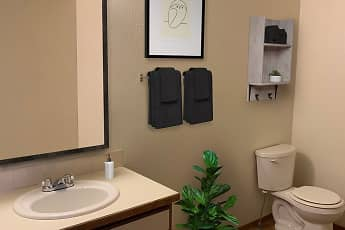 Bathroom, Shiloh Glen Apartments, 0