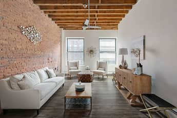 Living Room, SilverBrick Lofts, 1